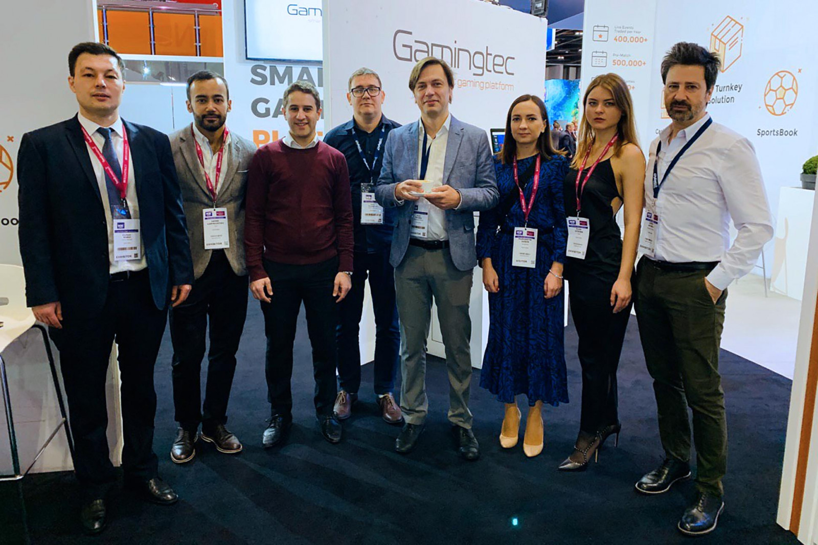 Gamingtec Showcases its Full Turnkey Solution at ICE 2020