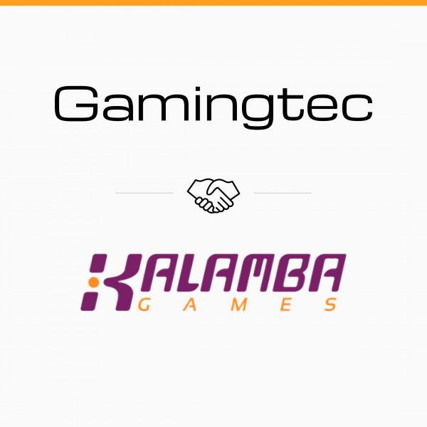 Gamingtec platform integrates Kalamba Games via ORYX platform