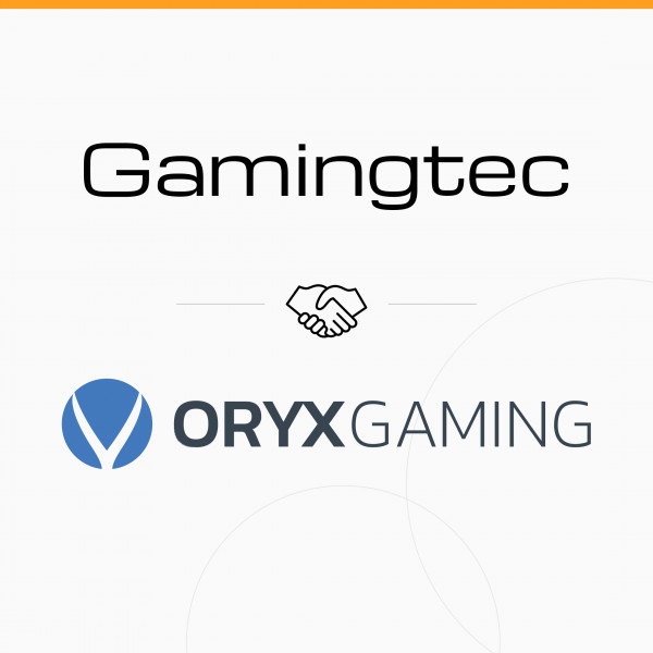 ORYX GAMING content goes live on Gamingtec's platform