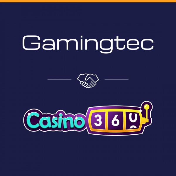 Casino360.bet goes live on the Gamingtec platform